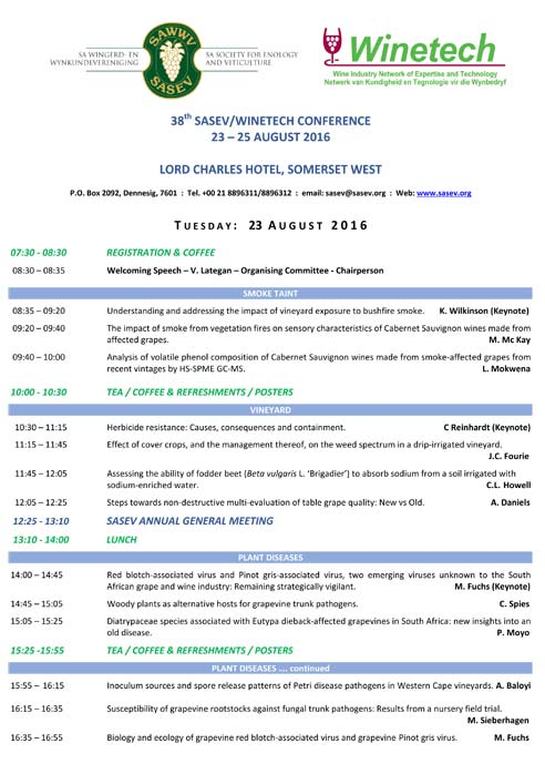 SASEV-38th-Conference-Program-2016